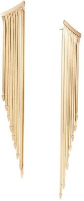 Lana Liquid 14K Gold Fringe Earrings