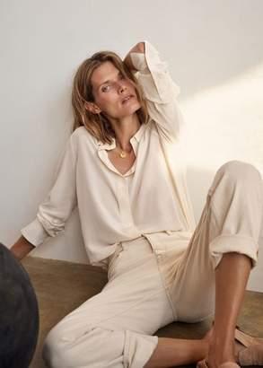 MANGO Premium straight jeans ecru - 1 - Women