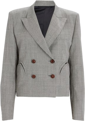 BLAZÉ MILANO Kentra Spencer Cropped Blazer