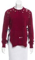 Maison Margiela Distressed Cashmere Sweater