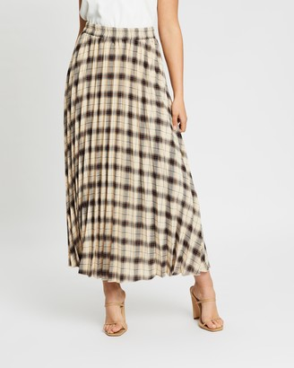 Atmos & Here Florence Pleat Skirt