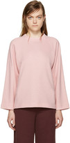 YMC Pink Relaxed Pullover