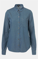 Topshop 'Colette' Chambray Shirt