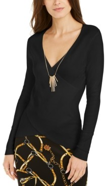 Thalia Sodi Necklace Sweater, Created for Macy's