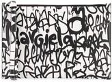 Maison Margiela Graffiti print clutch