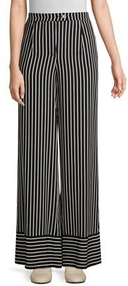 Beatrice. B Striped Wide Leg Pants