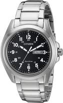 Citizen Men's Eco-Drive AW0050-82E Stainless-Steel Eco-Drive Watch