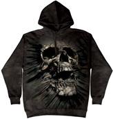 The Mountain Black Breakkthrough Skull Hoodie - Unisex