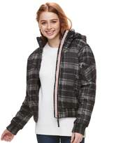 Urban Republic Juniors' Hooded Puffer Bomber Jacket
