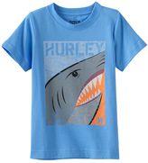 Hurley Boys 4-7 Shark Split Graphic Tee