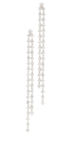 Kenneth Jay Lane Double Strand Shoulder Duster Earrings