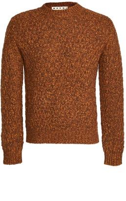 Marni Chunky Knit Crew Neck Sweater