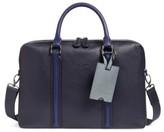 Ted Baker Men's Leather Document Bag - Blue