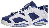 Jordan Nike Kids Air 6 Retro Low Bg Basketball Shoe 5 Kids US