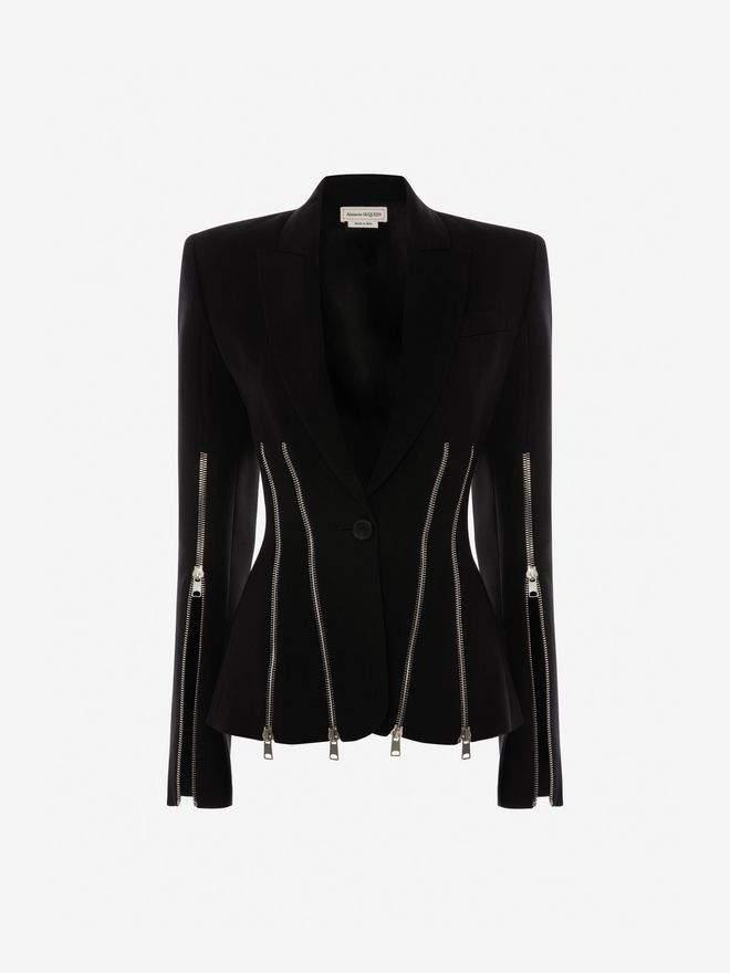 Alexander McQueen Punk Zipper Jacket