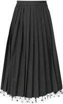 Muveil pleated skirt - women - Nylon/Polyester/Polyurethane/Rayon - 36