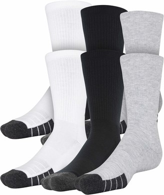 Under Armour Adult Performance Tech Crew Socks 6-Pairs