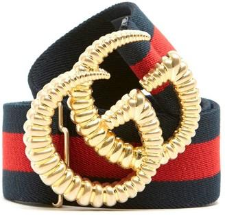Gucci Torchon GG Buckle Elastic Belt