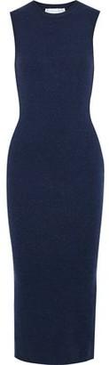Victoria Beckham Stretch-knit Midi Dress