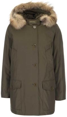 Woolrich Padded Fur Hooded Long Coat