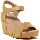 Antelope Metallic Wedge Sandal
