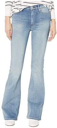 Hudson Holly High-Rise Flare in Word Play (Word Play) Women's Jeans