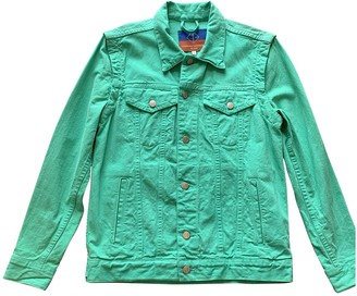 Opening Ceremony Green Denim - Jeans Jackets