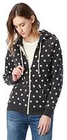 Alternative Women's Printed Adrian Fleece Zip-Front Hoodie