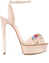 Casadei high-heeled stiletto sandals