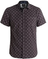 Quiksilver Men's Everyday Mini Motif Short Sleeve Shirt