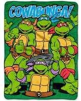 "Nickelodeon Teenage Mutant Ninja Turtles 46"" x 60"" Plush Micro-Raschel Throw"