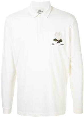 Kent & Curwen Rose Patch Rugby Shirt