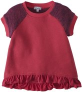 Splendid Active French Terry Top (Toddler/Kid) - Coral-6X