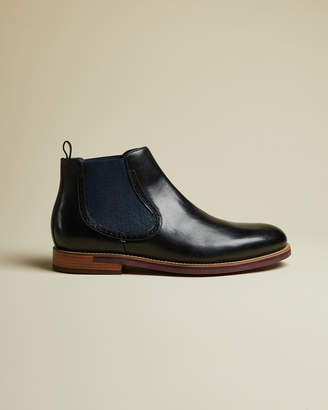 Ted Baker SECAINL Leather Chelsea boots