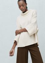 Mango Outlet Dolman-sleeve sweater