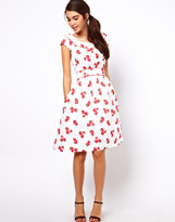 Emily And Fin Emily & Fin Strawberry Print Dress
