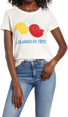Madewell Los Angeles 1973 Graphic Lo-Fi Shrunken Tee