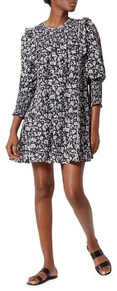 Joie Jamila Floral Print Shift Dress