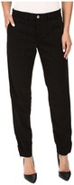 Joe's Jeans Flight Zip Ankle in Jet Black