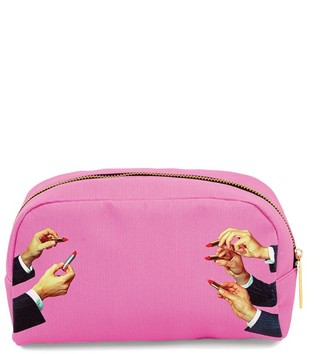 Seletti x TOILETPAPER Large Lipsticks Cosmetic Bag