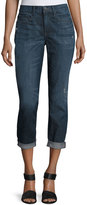 Vince Mason Rolled-Cuffs Relaxed Jeans, Blue