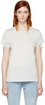 Helmut Lang Off-white Strappy T-shirt