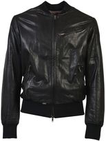 S.W.O.R.D. Leather Bomber Jacket