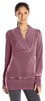 Andrew Marc Performance Women's Distress Fleece Tunic with Thermal
