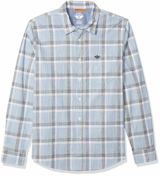 Dockers Supreme Flex Long Sleeve Button Up Shirt