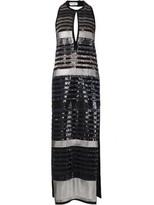 Sonia Rykiel long sequinned dress