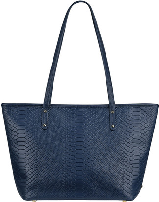 GiGi New York Taylor Python-Print Tote Bag