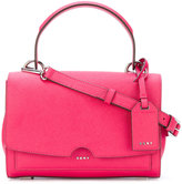 DKNY foldover tote bag - women - Leather - One Size