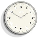 Jones & Co. the Moonlight Wall Clock, Acrylic, Grey, 40 x 43 x 47 cm