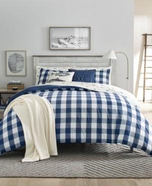 Eddie Bauer Lakehouse Plaid King Comforter Set